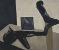 Drei Zustände, 1985, Eitempera auf Leinwand, 160 x 170 cm