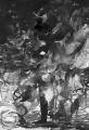 Ich habe nie aufgehört zu malen, 2012, Gouache über Lichtdruck, 30 x 20 cm