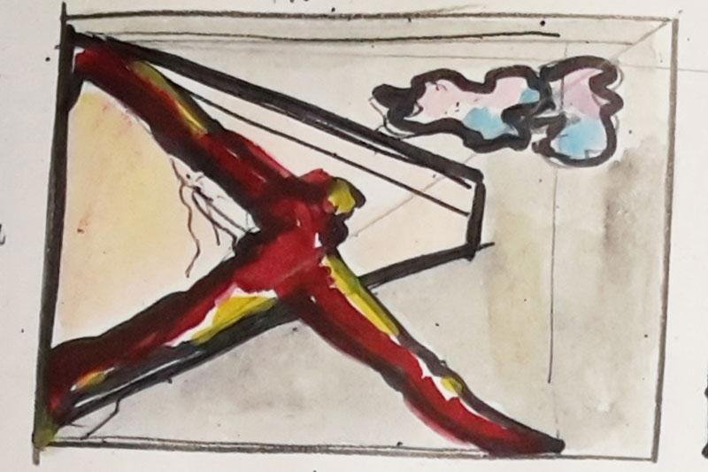 Skizze1 auf Papier