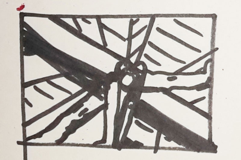 Skizze5 auf Papier